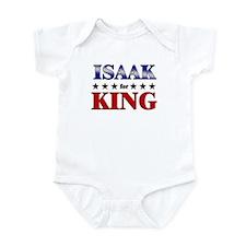 ISAAK for king Onesie