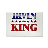 IRVIN for king Rectangle Magnet (10 pack)