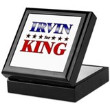 IRVIN for king Keepsake Box