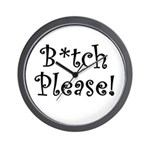 B Please Wall Clock