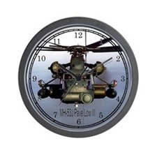 Pave Low Helicopter Wall Clock