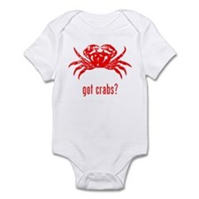 Crabs Infant Bodysuit