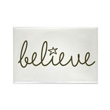 Cute Believe Rectangle Magnet