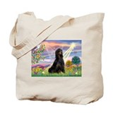 Cloud Angel & Gordon Setter Tote Bag