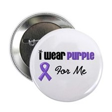 "I Wear Purple For Me 2.25"" Button"