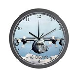 AC-130 Gunship Wall Clock