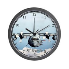 AC-130 Gunship Wall Clock