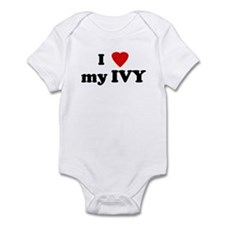 I Love my IVY Infant Bodysuit