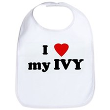 I Love my IVY Bib