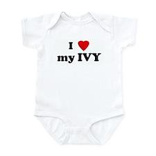 I Love my IVY Infant Bodysuit