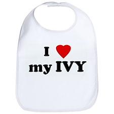 I Love my IVY Bib
