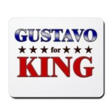 GUSTAVO for king Mousepad