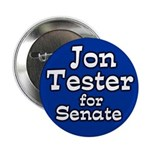 Jon Tester for Senate Campaign Button