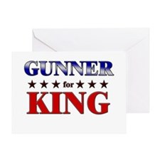 GUNNER for king Greeting Card