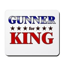 GUNNER for king Mousepad