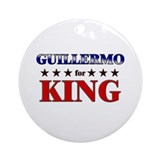 GUILLERMO for king Ornament (Round)