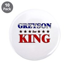 """GREYSON for king 3.5"""" Button (10 pack)"""