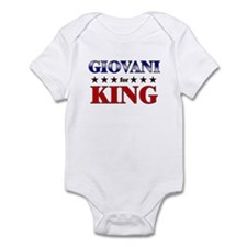 GIOVANI for king Infant Bodysuit