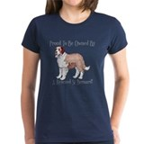 Proudly Owned By a Rescued St Bernard Tee