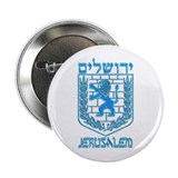 "Jerusalem Emblem 2.25"" Button (10 pack)"