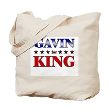 GAVIN for king Tote Bag