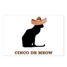 Cinco de Meow Postcards (Package of 8)