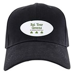 Eat Your Greens Shamrock Black Cap