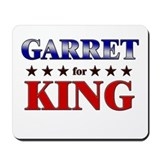 GARRET for king Mousepad