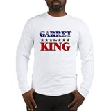 GARRET for king Long Sleeve T-Shirt