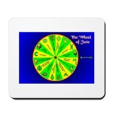 Wheel of Fate Mousepad
