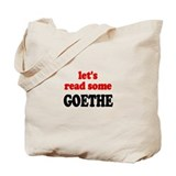Let's Read Goethe Tote Bag