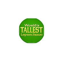 World's Tallest Leprechaun Mini Button