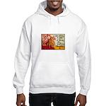 Knitting Fashion - Yarn Hooded Sweatshirt