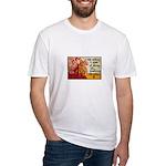 Knitting Fashion - Yarn Fitted T-Shirt