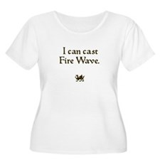i can cast fire wave T-Shirt