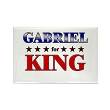 GABRIEL for king Rectangle Magnet (10 pack)