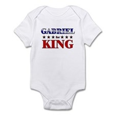 GABRIEL for king Infant Bodysuit