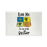 St. Patrick's Day - Irish Qui Rectangle Magnet (10