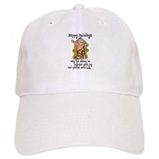 Happy Holidays - Quilter Baseball Cap
