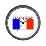 Gasquet France Flag Wall Clock