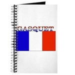 Gasquet France Flag Journal