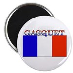 Gasquet France Flag Magnet