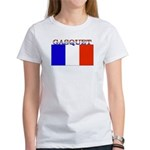 Gasquet France Flag Women's T-Shirt