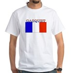 Gasquet France Flag White T-Shirt