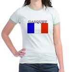 Gasquet France Flag Jr. Ringer T-Shirt