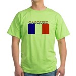 Gasquet France Flag Green T-Shirt