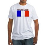 Gasquet France Flag Fitted T-Shirt