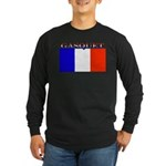 Gasquet France Flag Long Sleeve Dark T-Shirt