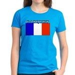 Gasquet France Flag Women's Dark T-Shirt