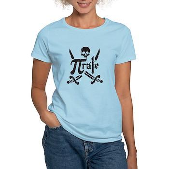 PI rate Women's Light T-Shirt | Gifts For A Geek | Geek T-Shirts